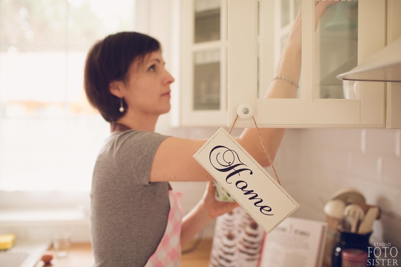Agnieszka w swojej kulinarnej krainie