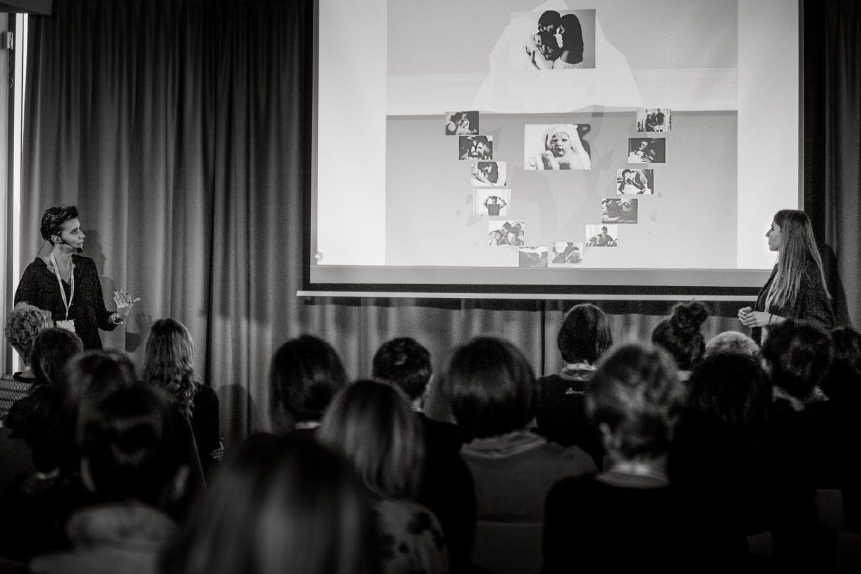 Agnieszka i Ania Dziduszkiewicz na Kongresie Fotografów Dziecięcych