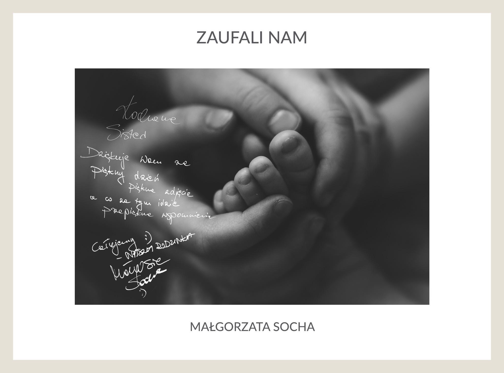 Sesja noworodkowa Małgosi Sochy