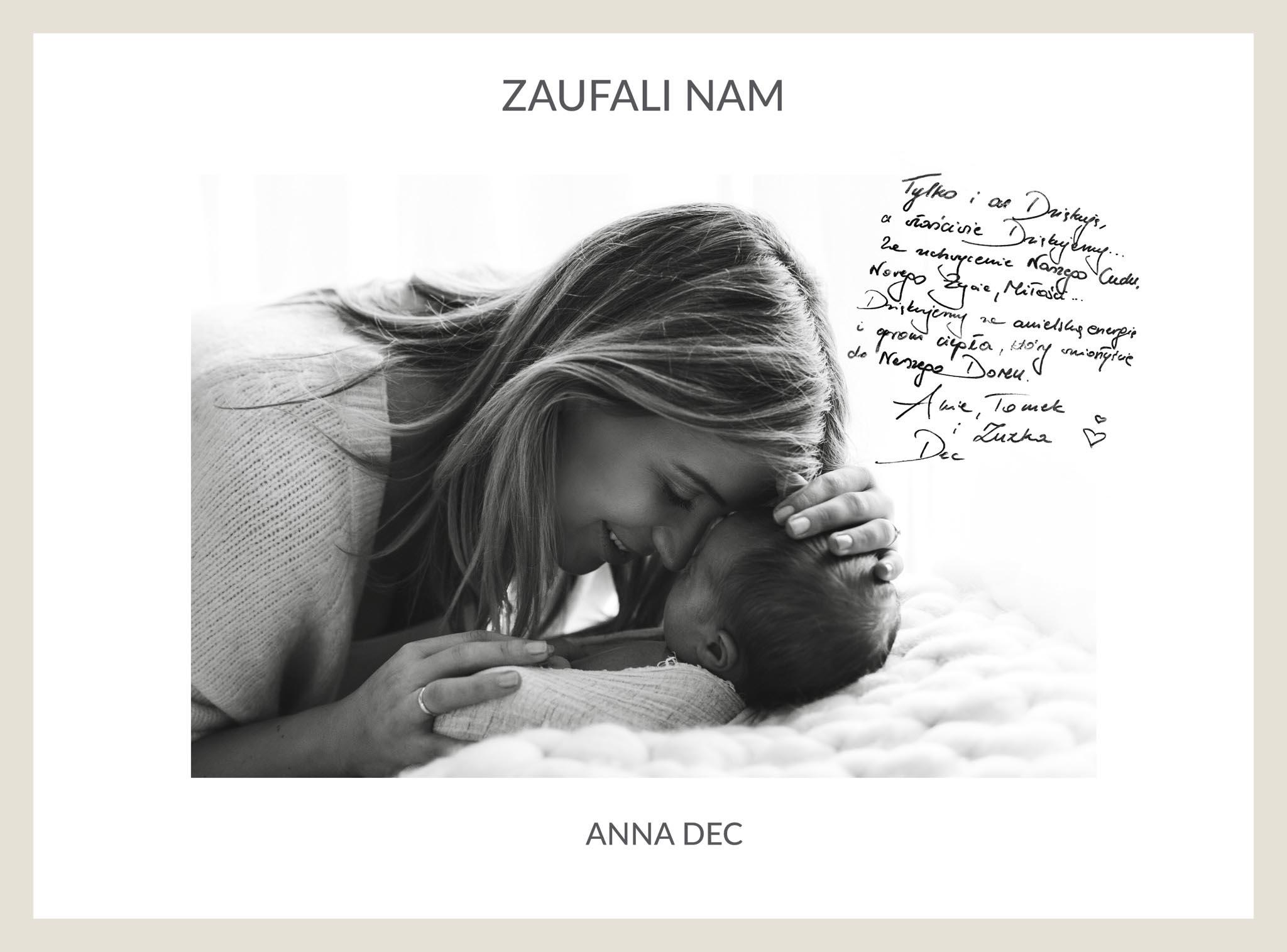 Anna Dec i córeczka